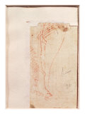 Study of Christ's Feet Nailed to the Cross Giclee Print by  Michelangelo Buonarroti