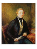Sir Robert Peel, 1838 Giclee Print by John Linnell