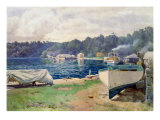Mosman's Bay, Sydney Giclee Print by John Mather