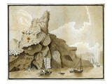 The Rock of Quang-Yin Giclee Print by William Alexander