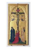 Korsfæstelse Giclée-tryk af Bernardo Daddi