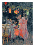 Chinese Lanterns, 1910 Giclee Print by Ivan Semyonovich Kulikov