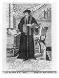 John Calvin Giclee Print by Clement de Jonghe