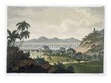 The Aqueduct in Rio de Janeiro Giclee Print by D.k. Bonatti
