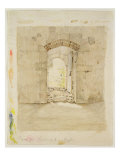 Entrance Gate to the Royal School in Meissen Giclee Print by Caspar David Friedrich