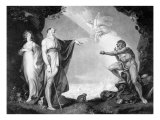 Prospero, Miranda, Caliban and Ariel, from The Boydell Shakespeare Gallery Giclee Print by Henry Fuseli