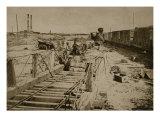 Destruction of the Rail Road at Manassas, 1861-62 Giclee Print by Mathew Brady & Studio