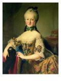 Archduchess Maria Elisabeth Habsburg-Lothringen Giclee Print by Martin Mytens II