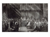 The Coronation of the Queen Giclee Print by Sir George Hayter