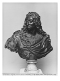 Bust of Louis Ii Prince of Bourbon, known as Le Grand Conde Giclee Print by Antoine Coysevox