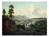 Saw Mill in Norway, 1827 Giclee Print by Christian Ernst Bernhard Morgenstern