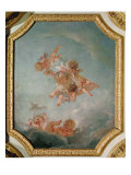 Spring, from a Series of the Four Seasons in the Salle du Conseil Giclee Print by Francois Boucher