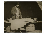 Embalming Surgeon at Work, 1861-65 Giclee Print by Mathew Brady & Studio
