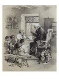 The School Teacher Giclee Print by Jules David