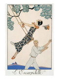 The Swing, 1923 Giclee Print by Georges Barbier