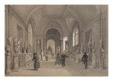 Vatican Museums, Gallery of Candelabra, Rome, Illustration from Album 'Rome Dans Sa Grandeur' Giclee Print by Felix Benoist