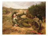 Fallen by the Wayside, 1886 Gicleetryck av Edgar Bundy