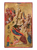 Icon Depicting the Nativity Giclee Print