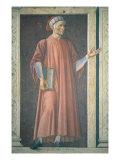 Dante Alighieri Giclee Print by  Andrea del Castagno