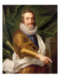 Portrait of a Nobleman in Armour Giclee Print by Daniel Mytens