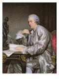 Portrait of Claude-Henri Watelet Giclee Print by Jean-Baptiste Greuze