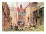 St. Bartholomew Close, Smithfield, London, 1850 Giclee Print by John Wykeham Archer