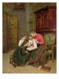 The Family Album, 1869 Giclee Print by Charles Edouard Frere