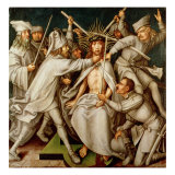 The Flagellation, from the Altarpiece for the Dominikanerkirche, 1501 Giclee Print by Hans Holbein the Elder