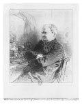 Henri Bonaventure Monnier Giclee Print by Paul Gavarni