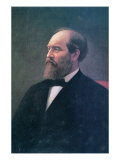 James A. Garfield Giclee Print by Calvin Curtis