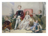 Children of Elhanan Bicknell Giclee Print by Stephan Poyntz Denning