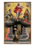 Christ Forgiving St. Francis in a Vision Giclee Print by Federico Barocci