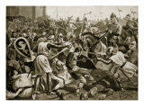 Robert Taken Prisoner at Tinchebral, Illustration from 'Hutchinson's Story of British Nation' Giclee Print by Alfred Pearse