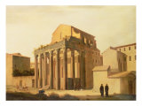The Forum, Rome Giclee Print by Filippo Gagliardi