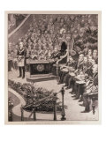 Masonic Gathering in Honour of Queen's Jubilee, Royal Albert Hall, 'The Illustrated London News' Giclee Print by Amedee Forestier