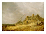 Farmstead, 1632 Giclee Print by Jan Josephsz. Van Goyen