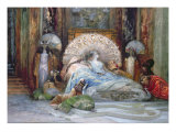 Sarah Bernhardt in Title Role of 'Theodora', by Victorien Sardou, produced in Paris in 1884, 1902 Giclee Print by Georges Clairin