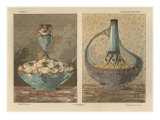 Vases, from 'Fantaisies Decoratives', engraved by Gillot, Librairie de l'Art, Paris, 1887 Giclee Print by Jules Auguste Habert-dys