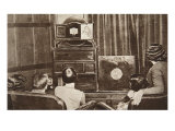 Television, Developed by John L. Baird, Was Successfully Broadcast Giclee Print by  English Photographer