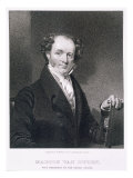 Martin Van Buren, engraved by E. Wellmore Giclee Print by Henry Inman