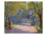 Afternoon in the Park Giclee Print by Hippolyte Petitjean
