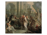 The Disembarkation of Cleopatra at Tarsus Reproduction procédé giclée par Gerard De Lairesse