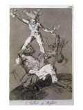 To Rise and to Fall, Plate 56 of 'Los caprichos', 1799 Giclee Print by Francisco de Goya