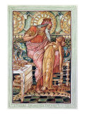 King Midas and his Daughter Turned to Gold, from a Book on Greek Legends and Mythology Giclee Print by Walter Crane