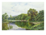 The Thames Near Henley Giclee Print by Henry Parker