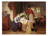 The Newborn Child Giclee Print by Theodore Gerard