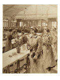 Female Munitions Workers, 1914-19 Giclee Print by Samuel Begg