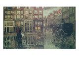Corner of Leidsche Square, Amsterdam Giclee Print by Georg-Hendrik Breitner
