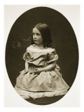 Alice Murcoch, 19th July 1856 Giclee Print by Charles Lutwidge Dodgson