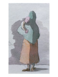 Mother and Child Giclee Print by Egron Sellif Lundgren
